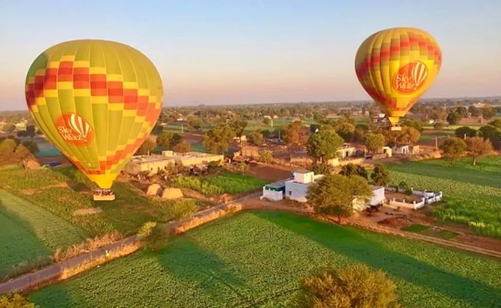 Hot Air Balloon Jaipur Image