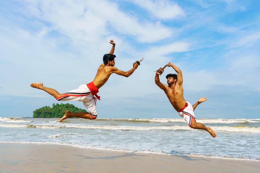 Kalaripayattu Show Kochi Image