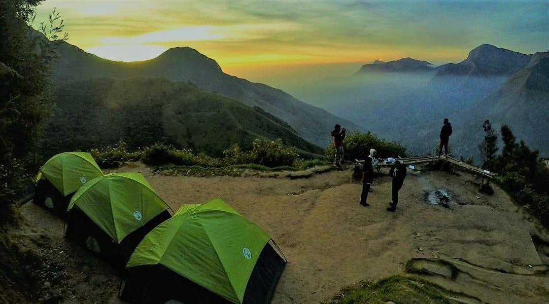 Camping At Top Station Image