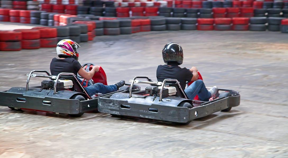 Go Karting In Gurgaon Image
