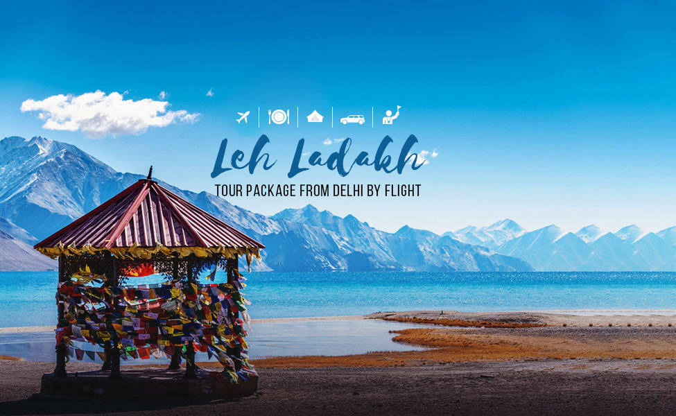 Leh Ladakh Tour Package From Delhi By Air Image