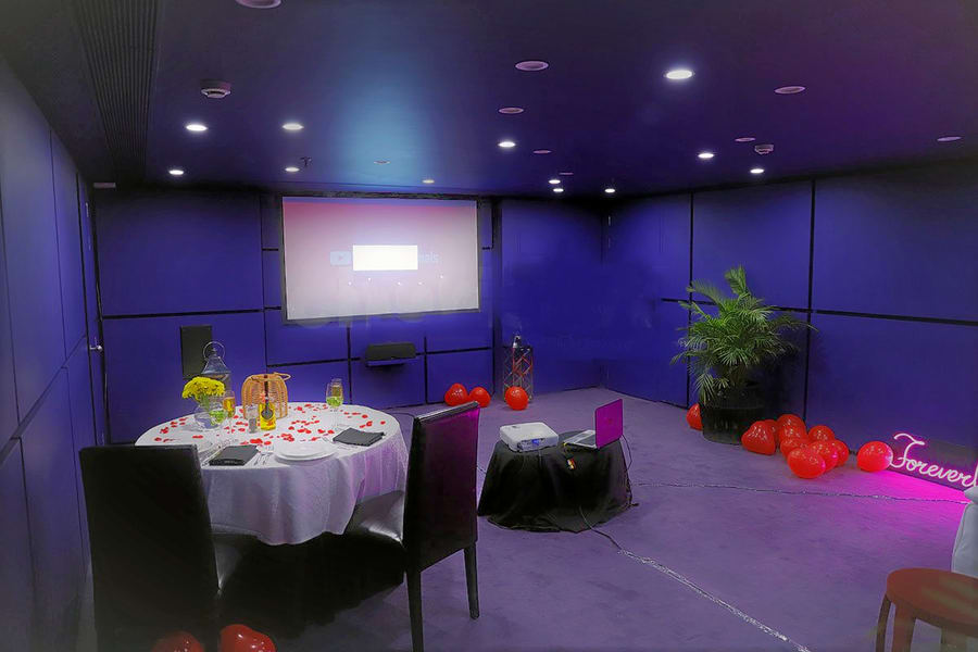 Private Movie & Candle Light Dinner At Citrus Hotel, Bangalore Image