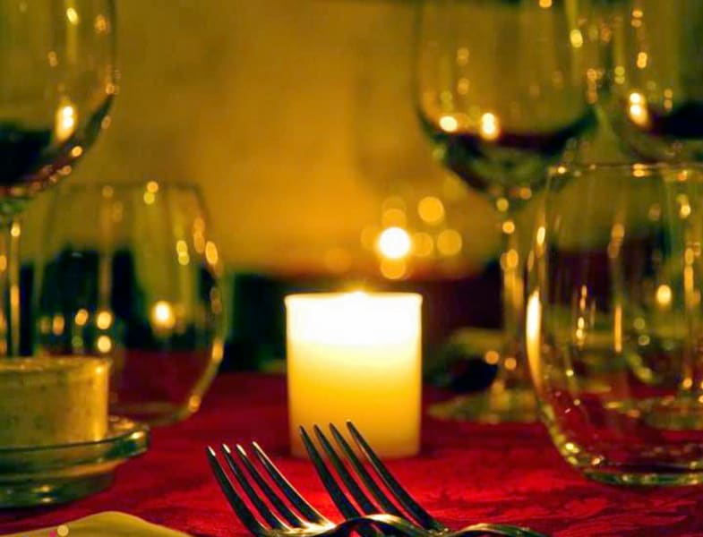 Candle Light Dinner In Whitefield Image