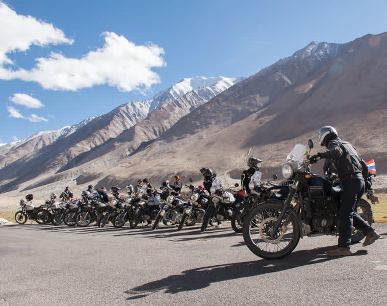 Manali Leh Manali Bike Expedition With Hanle & Tsomoriri Image