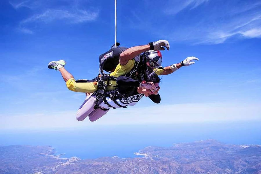 Skydiving In Mysore Image