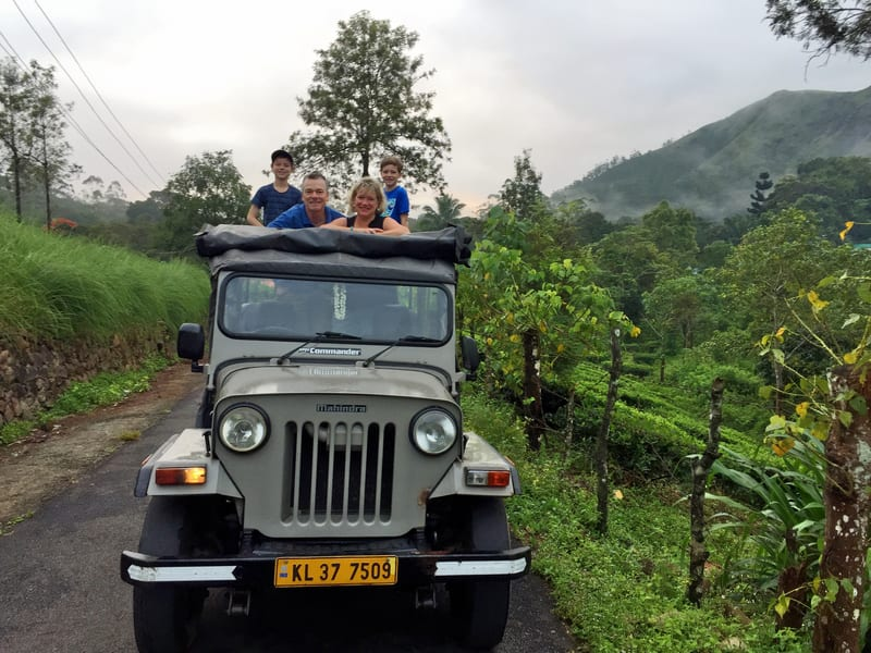 Jeep Safari From Munnar To Vattavada Image
