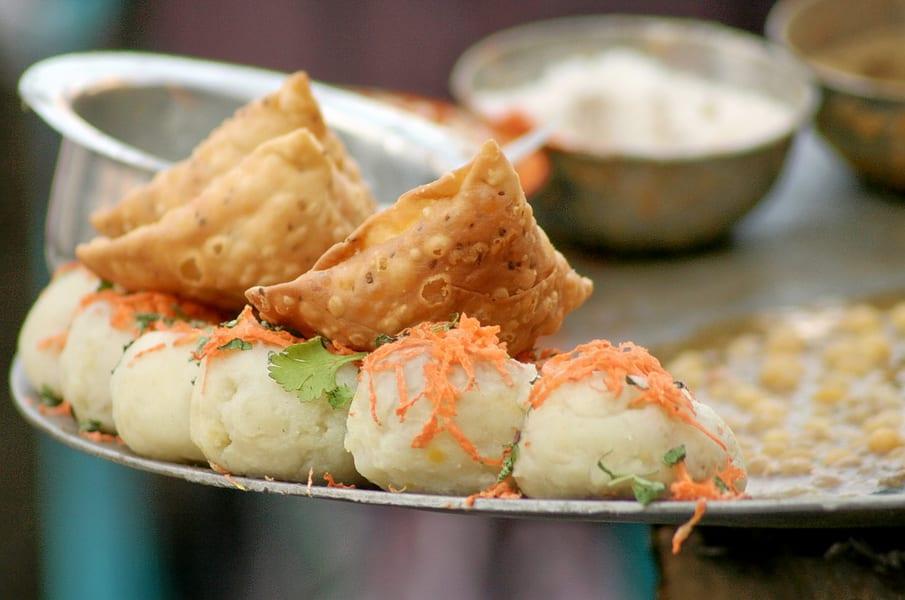 Street Food In Pune Image