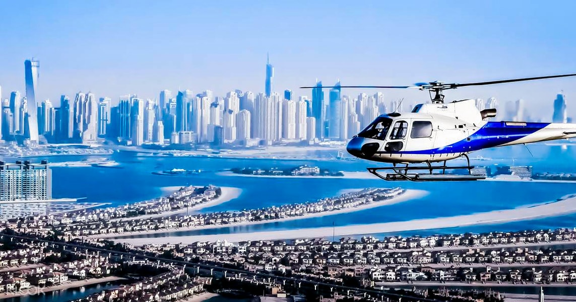 Dubai Helicopter Ride With Hotel Transfers Image