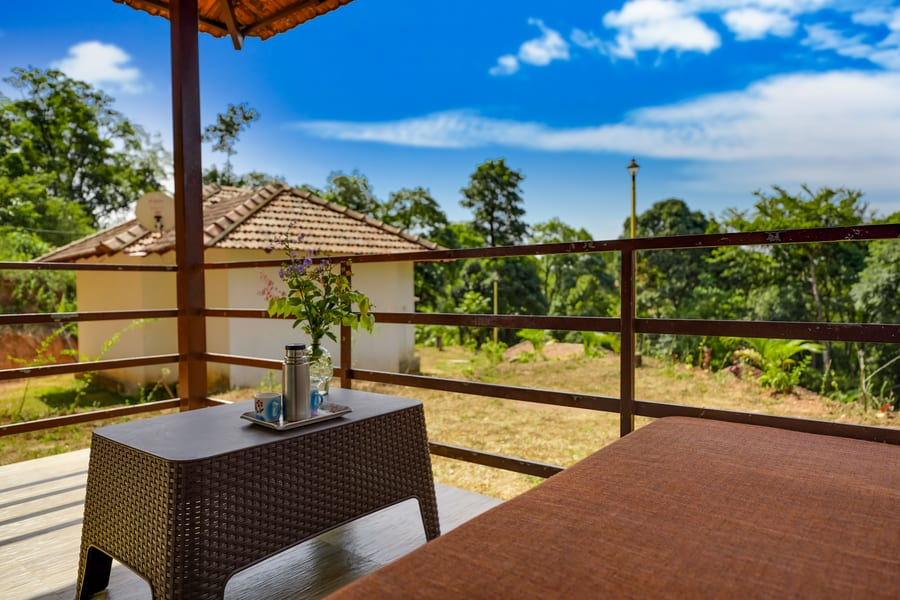 A Hilltop Cottage Hideway in Coffee Plantations of Coorg Image