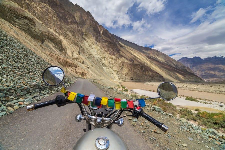 Manali to Leh Ladakh Bike Trip Image