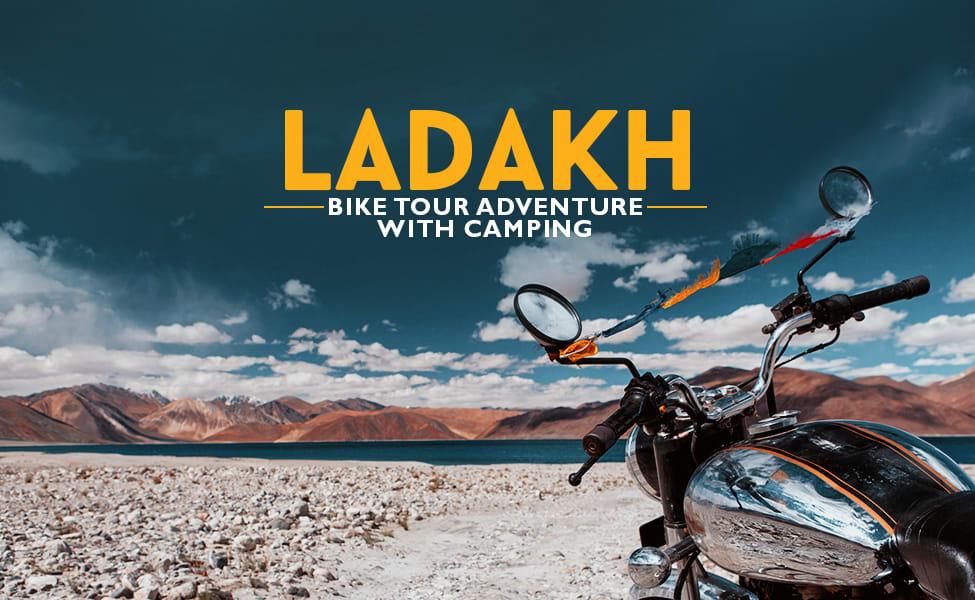 Leh Bike Tour Adventure With Camping Image