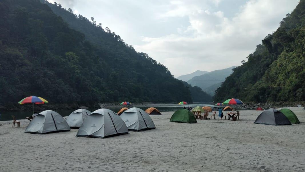 Camping At Teesta River Image