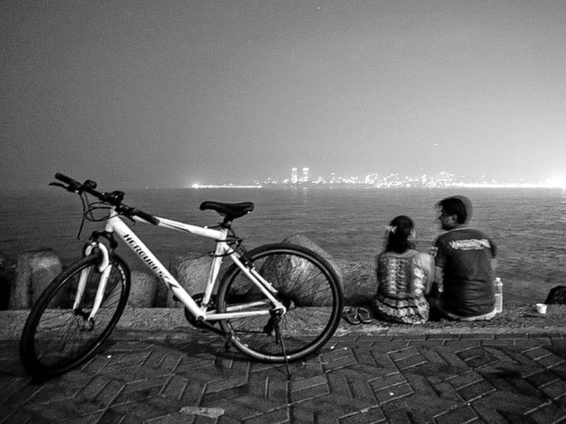 Midnight Cycling Mumbai Image