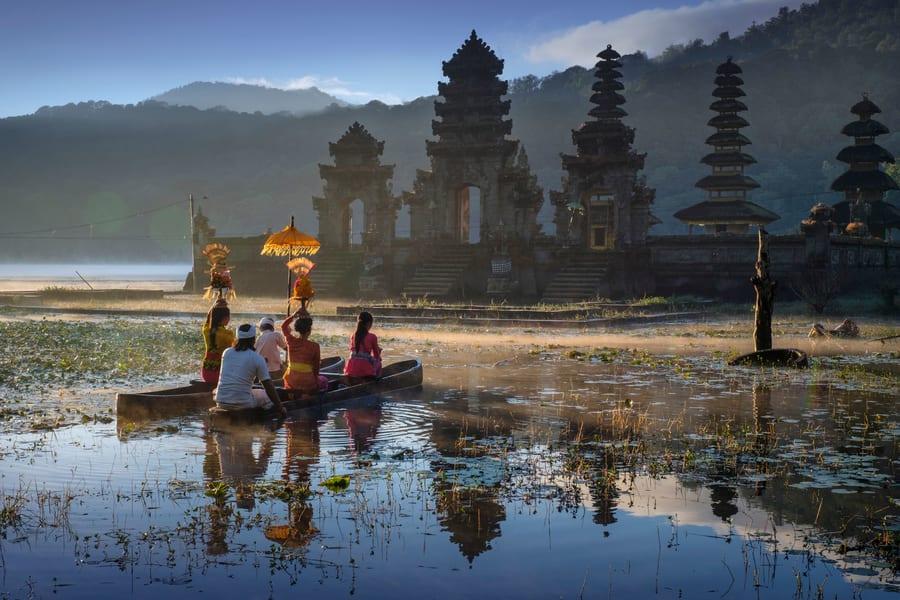 Rainforest Walk, Atv and Canoeing in Bali Image