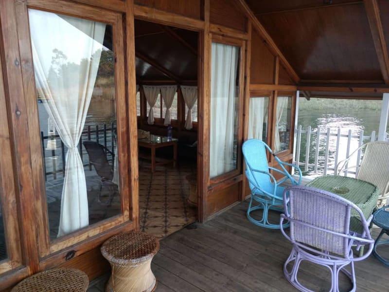 Umiam Lake Boathouse Meghalaya Image