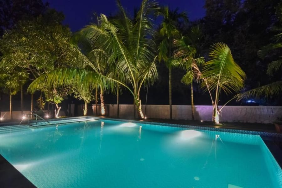 A Weekend Homestay With Pool On the Slopes Of Alibaug Image