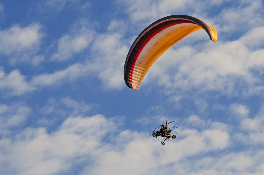 Powered Paragliding in Rishikesh Image