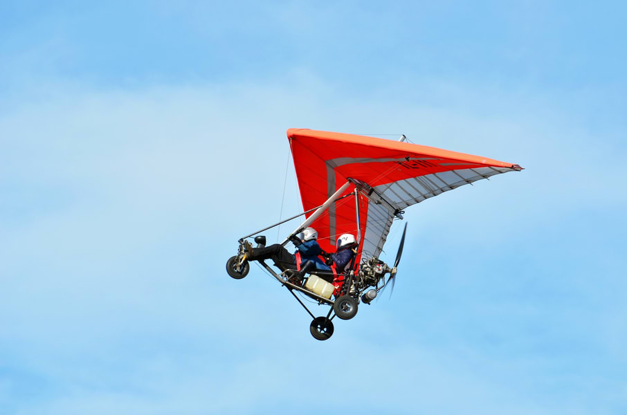 Microlight Flying In Bangalore Image