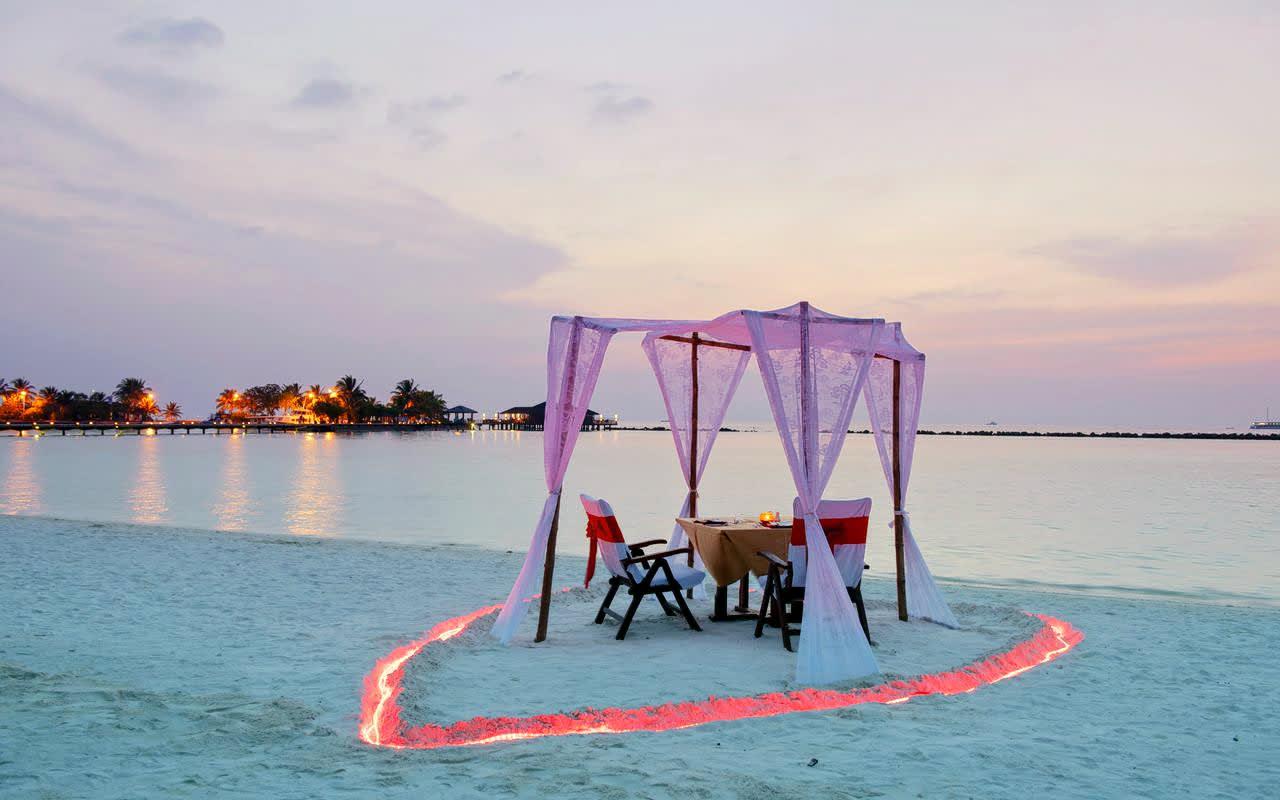Paradise Island Resort Maldives Honeymoon Package Flat 33 Off