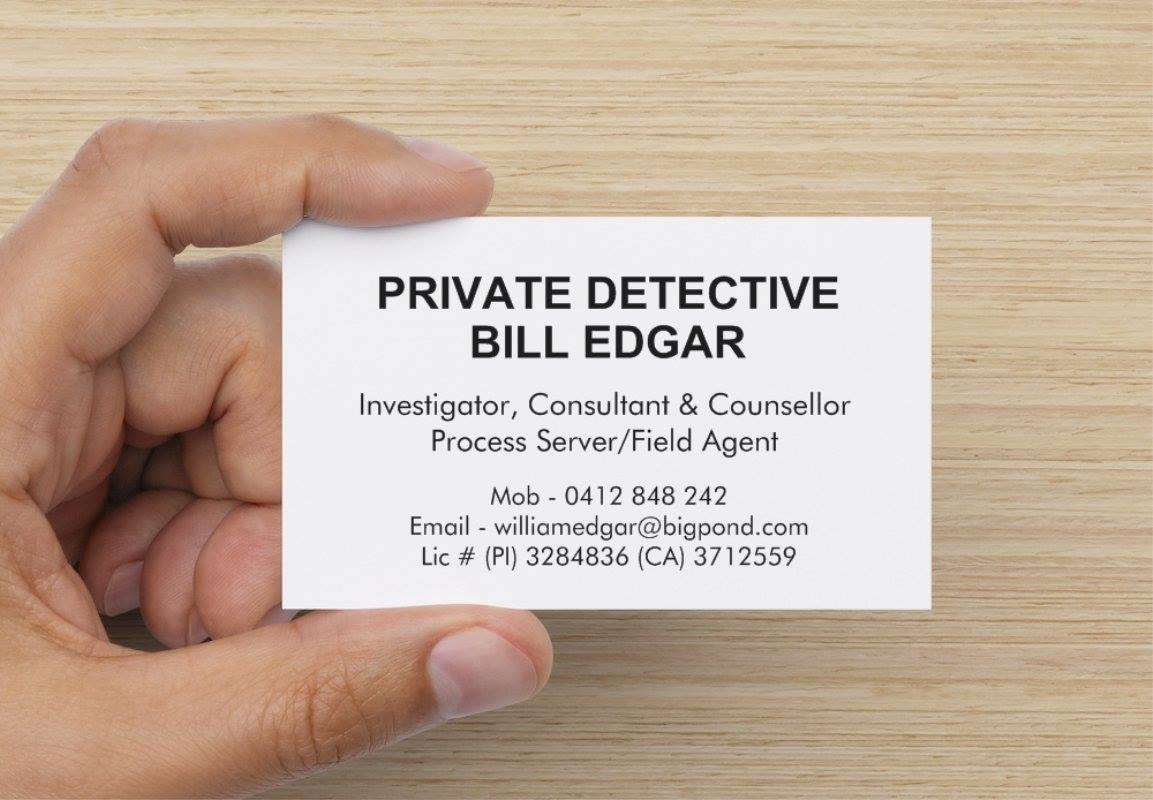William Edgar Business Card