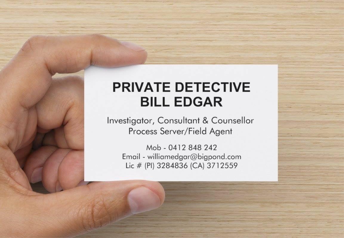 William Edgar Business Card
