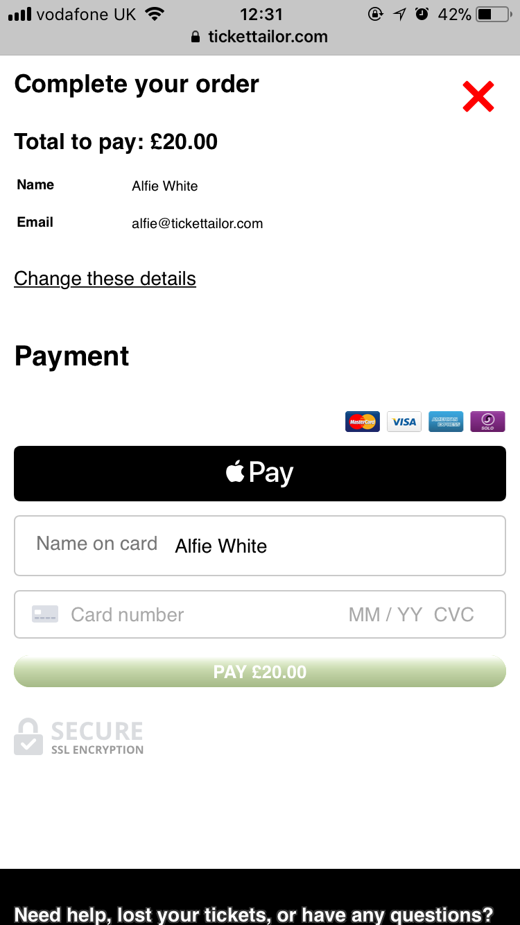 Apple Pay Stage 1