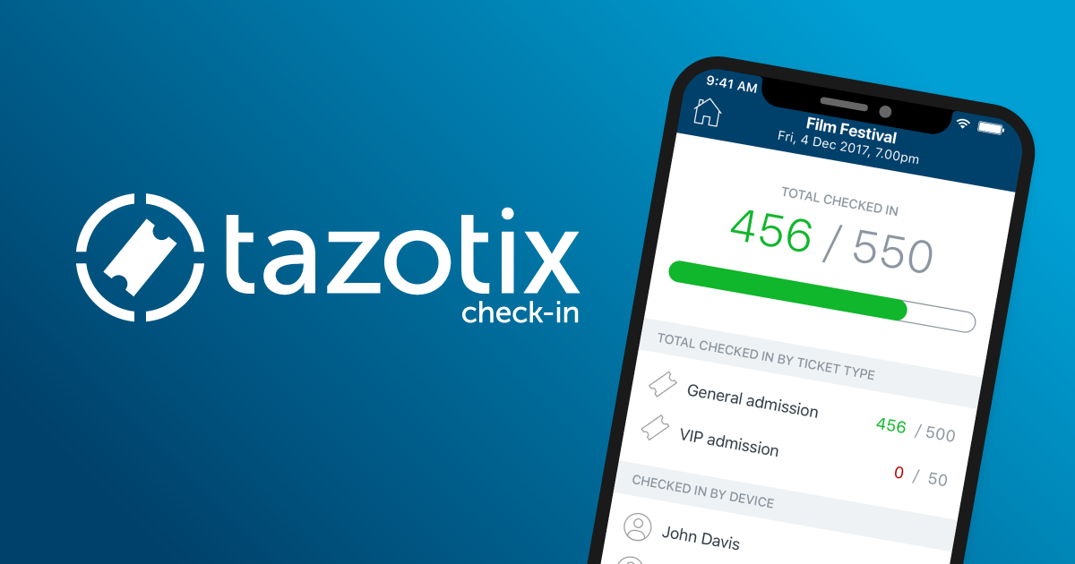 Ticket Tailor launches NEW speedy check-in app! — Ticket Tailor Blog