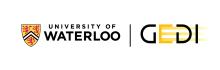 Logo - University of Waterloo GEDI