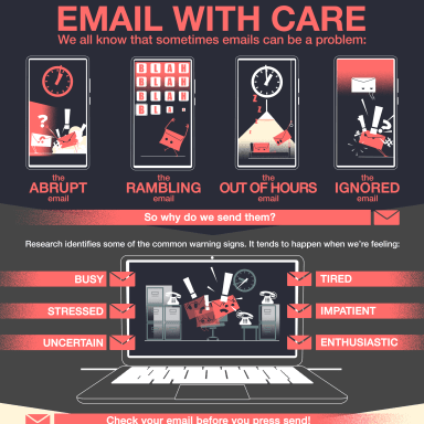Problematic Emails Infographic