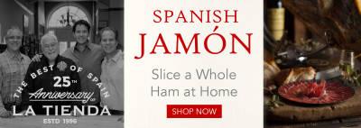 Spanish Jamón - Slice a Whole Ham at Home