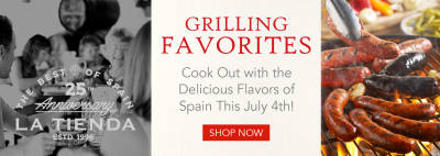 Grilling Favorites - Cook Out with the Delicious Flavors of Spain This July 4th!