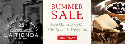 Summer Sale - Save Up to 30% Off 75+ Spanish Favorites