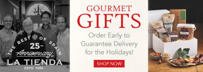 Gourmet Gifts - Order Early to Guarantee Delivery for the Holidays!