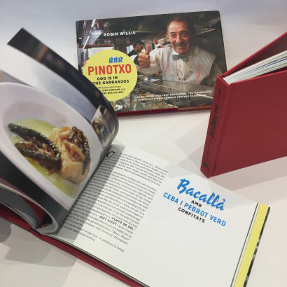 Bar Pinotxo, God is in the Garbanzos Book - Hardcover, 31 Recipes