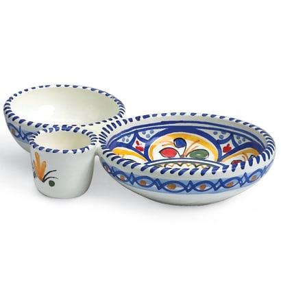 Ceramic Olive Serving Dish