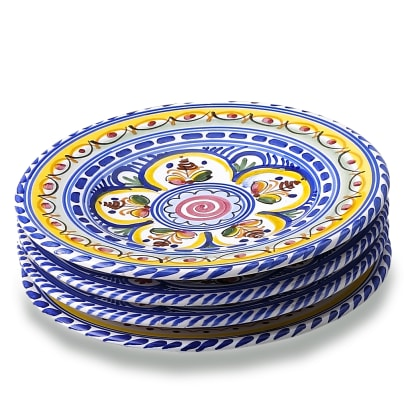 Set of 4 Tapas Plates - Each 7 Inches
