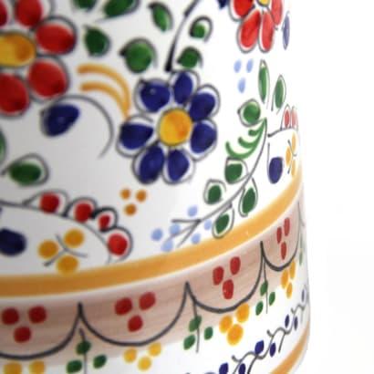 Sangría Pitcher - Colorful 'Flor' Design