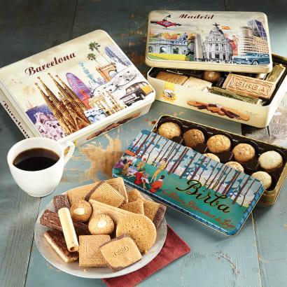 'Barcelona' Gift Tin of Spanish Cookies
