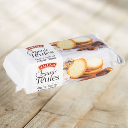 2 Packages of Teules Almond Cookies by Trias