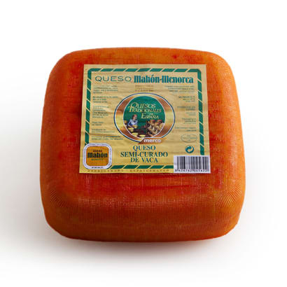 Mahón Cow's Milk Cheese, D.O. - 1.65 Pounds