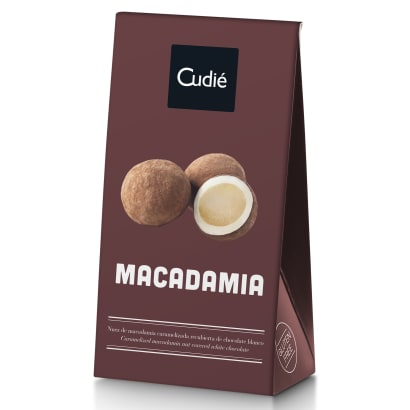 Chocolate Covered Macadamia Nuts by Cudié