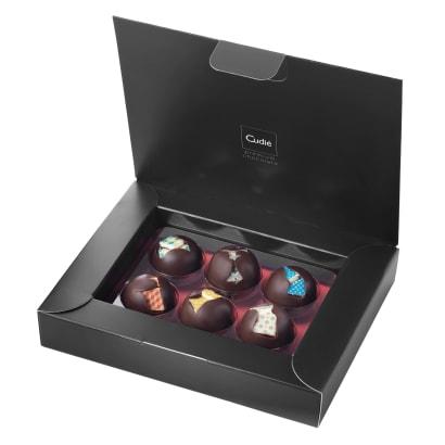 Mediterranean Tiles Chocolate Bonbon Gift Box by Cudié