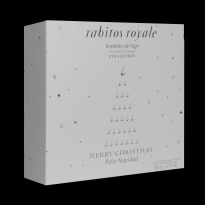 Trio of Rabitos Royale Gourmet Fig Bonbons (9 Piece Total)