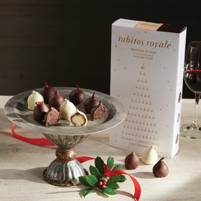 Trio of Rabitos Royale Gourmet Fig Bonbons (18 Pieces Total)