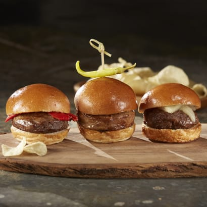 Iberico Pork Sliders by Texas Iberico® - 6 Mini-Burger Patties