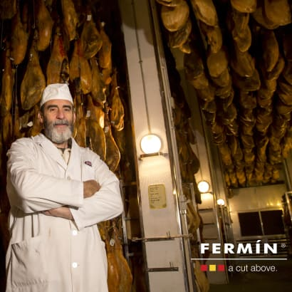 Bone-in Jamón Serrano by Fermín - FREE SHIPPING!