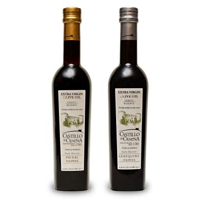 Duo of Castillo de Canena Extra Virgin Olive Oils