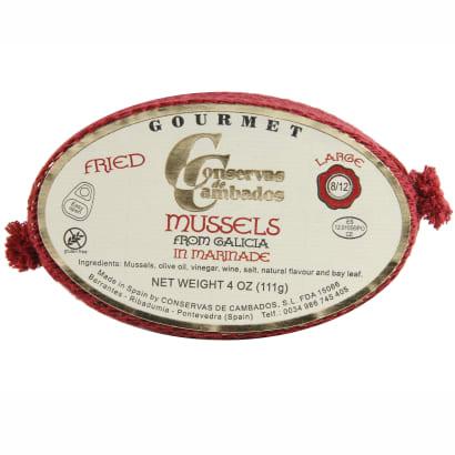 Mejillones en Escabeche by Conservas de Cambados - Mussels in Sauce