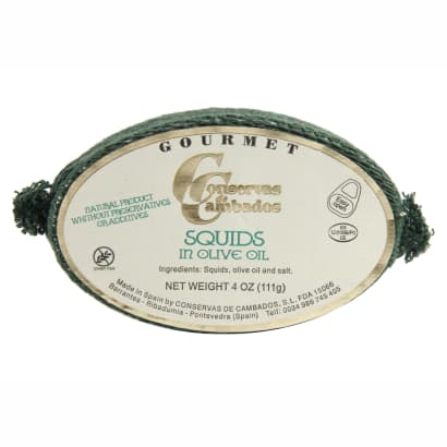 Chipirones by Conservas de Cambados - Squid in Olive Oil