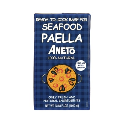 Seafood Paella Stock by Aneto